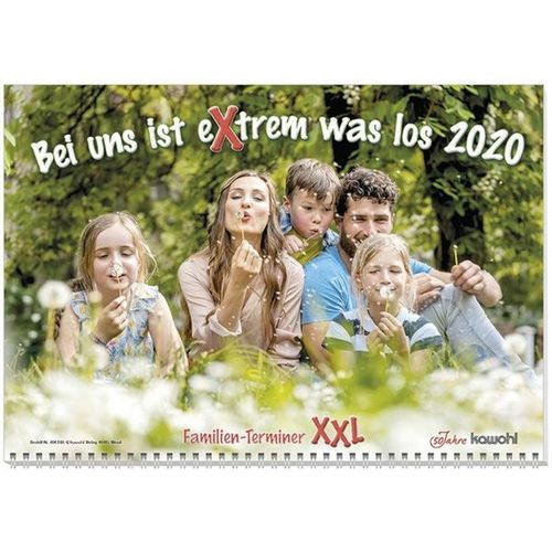 Bei uns ist eXtrem was los 2020 - Wandkalender - Familien-Terminer XXL